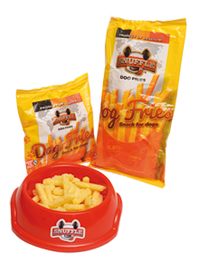 snuffle dog fries