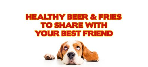 Have a healthy beer with your best friend